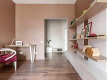 Квартира «Городской оазис для холостяка», гостиная . Фото № 31808, автор Корчевая Елена