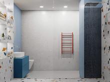 Квартира «Ванная комната для оптимистичных интеллектуалов», ванная . Фото № 31812, автор Корчевая Елена