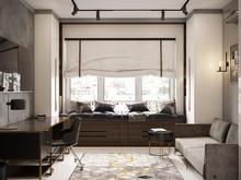 Квартира «Современный интерьер», гостевая . Фото № 31837, автор TerraDiz студия дизайна