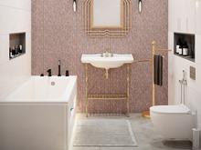 Квартира «Современный интерьер», ванная . Фото № 31838, автор TerraDiz студия дизайна