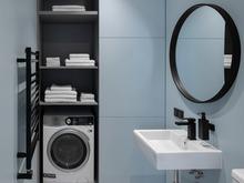 Квартира «ЖК Онли», ванная . Фото № 31847, автор Korshunov Dmitriy