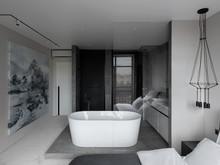 Квартира «ЖК Онли», ванная . Фото № 31851, автор Korshunov Dmitriy