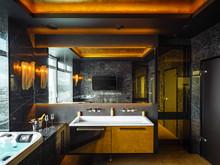 Квартира «ЖК Алые-Паруса», ванная . Фото № 31864, автор Korshunov Dmitriy