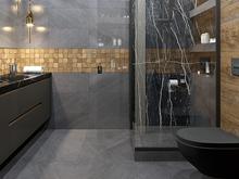 Квартира «ЖК ЗВЕЗДНЫЙ», ванная . Фото № 31882, автор Дикий Николай