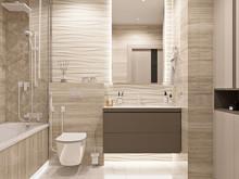 Квартира «ЖК ЗВЕЗДНЫЙ», ванная . Фото № 31881, автор Дикий Николай