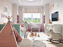 Квартира «ЖК ЗВЕЗДНЫЙ», детская . Фото № 31886, автор Дикий Николай