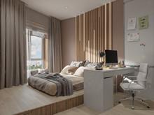 Квартира «ЖК Новая Звезда», спальня . Фото № 31899, автор Кашуба Сэпэлма