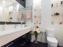 Квартира «Стильный черный», ванная . Фото № 31938, автор Евсеева Алена