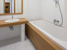Квартира «WHITE&WOOD», ванная . Фото № 31944, автор Будник Евгений