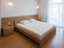 Квартира «WHITE&WOOD», спальня . Фото № 31945, автор Будник Евгений