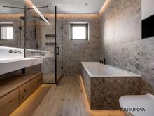 Квартира «S067», ванная . Фото № 31956, автор Yousupova