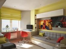Квартира «Интерьер 3-х комнатной квартиры», детская . Фото № 31963, автор Линия интерьера Студия дизайна