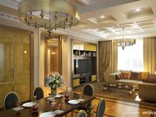 Квартира «Интерьер квартиры в ЖК Фамильный дом Воробьево», гостиная . Фото № 31966, автор Линия интерьера Студия дизайна