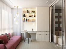 Квартира «Интерьер 2-х комнатной квартиры», кабинет . Фото № 31988, автор Линия интерьера Студия дизайна