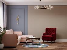 Квартира «Двухкомнатная квартира в ЖК Жемчужный берег», гостиная . Фото № 32006, автор Корпан Ксения