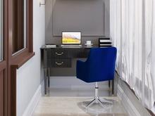 Квартира «Двухкомнатная квартира в ЖК Жемчужный берег», кабинет . Фото № 32008, автор Корпан Ксения