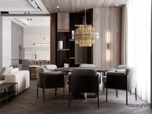 Квартира «S069», столовая . Фото № 32010, автор Yousupova
