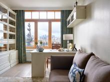 Квартира «Квартира в Неорусском стиле в ЖК «Коперник»», кабинет . Фото № 32016, автор Ивлиева Евгения