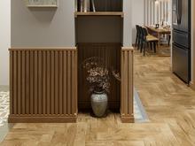 Квартира «МАГИЯ ФОРМЫ И ЦВЕТА», коридор . Фото № 32034, автор Алёны Чекалиной Дизайн студия