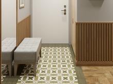 Квартира «МАГИЯ ФОРМЫ И ЦВЕТА», прихожая . Фото № 32035, автор Алёны Чекалиной Дизайн студия