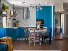 Квартира «Квартира в ЖК Ольховсий Парк», кухня . Фото № 32060
