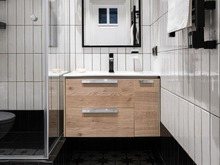 Квартира «Квартира на Первомайской», ванная . Фото № 32105