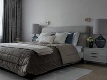 Квартира «Картира в ЖК Крылов», спальня . Фото № 32108, автор Mediana Interiors дизайн-бюро