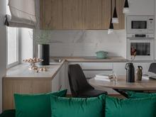 Квартира «Квартира в ЖК Арбатский», кухня . Фото № 32131