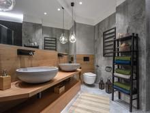 Квартира «Квартира в ЖК Антарес», ванная . Фото № 32135