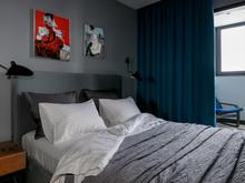 Квартира «Яркая Квартира в ЖК Арбатский», спальня . Фото № 32137