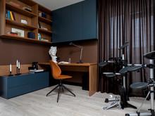 Квартира «Яркая Квартира в ЖК Арбатский», кабинет . Фото № 32138