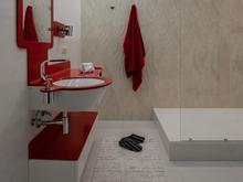 Квартира «Квартира в ЖК Vivaldi», ванная . Фото № 32146