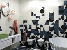 Квартира «Квартира на Левом берегу», ванная . Фото № 32158, автор ViO-design Мастерская дизайна