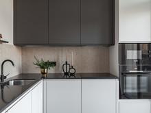 Квартира «Мантулинская», кухня . Фото № 32169, автор Mediana Interiors дизайн-бюро