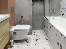 Квартира «Мантулинская», ванная . Фото № 32173, автор Mediana Interiors дизайн-бюро