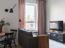 Квартира «Мантулинская», гостиная . Фото № 32170, автор Mediana Interiors дизайн-бюро