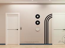 Квартира «Графичный Soleray в ЖК Хорошевский.», прихожая . Фото № 32179, автор Ивлиева Евгения