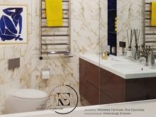 Квартира «Графичный Soleray в ЖК Хорошевский.», ванная . Фото № 32176, автор Ивлиева Евгения