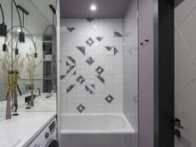 Квартира «Цветом как звуком», ванная . Фото № 32188, автор TerraDiz студия дизайна