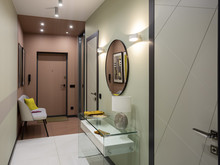 Квартира «Цветом как звуком», коридор . Фото № 32182, автор TerraDiz студия дизайна