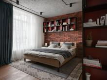 Квартира «URBAN LIGHT», спальня . Фото № 32194, автор Сытник Евгения