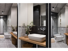 Квартира «URBAN LIGHT», ванная . Фото № 32195, автор Сытник Евгения