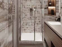 Квартира «Дизайн-проект квартиры, ЖК Зиларт», ванная . Фото № 32204, автор Декотренд