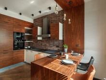 Квартира «Макси в Мини», кухня . Фото № 32222, автор Чехова-Корюкина Инна