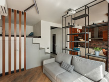 Квартира «Макси в Мини», гостиная . Фото № 32223, автор Чехова-Корюкина Инна