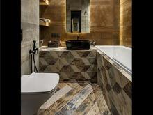 Квартира «Макси в Мини», ванная . Фото № 32225, автор Чехова-Корюкина Инна
