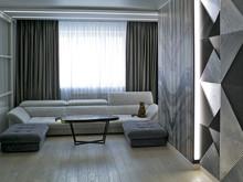 Квартира «Современный стиль», гостиная . Фото № 32229, автор Забелина Наталья