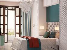 Квартира «Осенний иней», спальня . Фото № 32254, автор Ивлиева Евгения