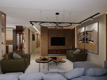 Квартира «Квартира Воплощая мечту!», гостиная . Фото № 32275, автор Гусева Анна