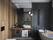 Квартира «Квартира Воплощая мечту!», ванная . Фото № 32276, автор Гусева Анна